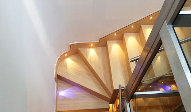 scalini in legno